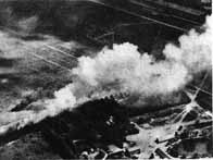 Destruction d'un aérodrome russe, le 22 juin 1941