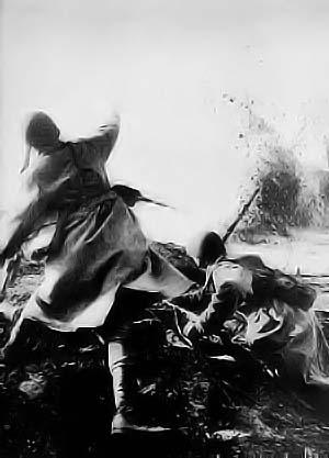 soldats soviétiques Russesgrenade