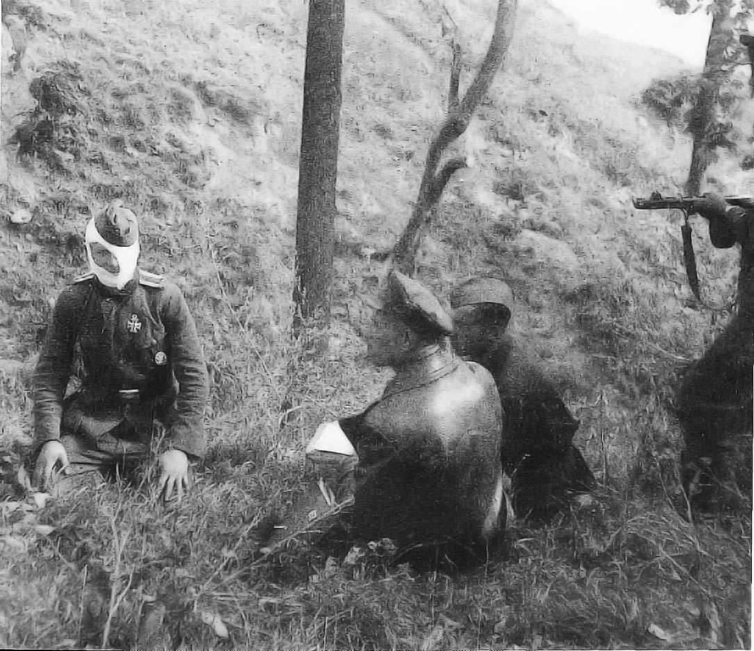 soldats soviétiques Officierinterro