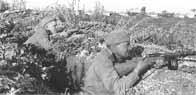 Soldats soviétiques équipés de PPSh-41