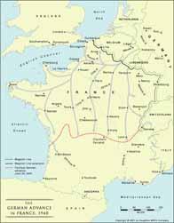 Avance allemande en France en 1940