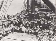 Le corps expéditionnaire britannique fait route vers la Norvège