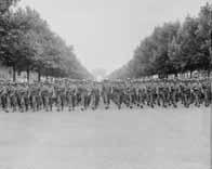Défilé des troupes alliées à Paris