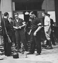 Des FFI à Paris, lors de la libération de la ville