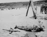 Soldat allié tué en Normandie