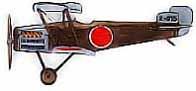 Mitsubishi 1MF1, premier appareil de l'aéronavale Nippone.