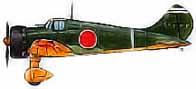A5M-4 d'entraînement du porte-avions Hosho en 1942