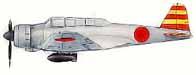 """B5N-2 """"Kate"""" basé sur l'Akagi en décembre 1941, pour Pearl harbor."""