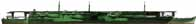 """Le Zuiho en 1944. Notez la fausse silhouette sombre évoquant un navire de type pétrolier. Les tons de verts correspondaient à leur utilisation au milieu des archipels, recouverts de hauts """"mornes"""" recouverts d'une épaisse jungle."""
