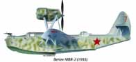 Beriev MBR-2 en 1935