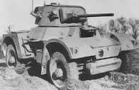 Daimler Armored Car Mk I .