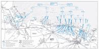 Carte du débarquement de Normandie (en anglais)