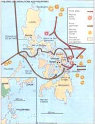 Bataille des Philippines. 20/10 1944 au 28 juin 1945 Cartephilippines_v