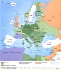 L'Europe sous la domination nazie