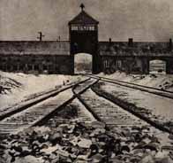 Entrée du camp d'Auschwitz-Birkenau