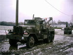 Un Ward La France Heavy Wrecker lors du soixantenaire de la bataille des Ardennes