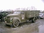 Un Chevrolet 30 CWT GS lors du soixantenaire de la bataille des Ardennes