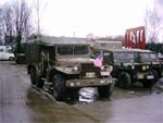 Un Dodge WC62 lors du soixantenaire de la bataille des Ardennes