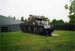 Un Sherman M4A3 à Bastogne
