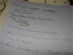 Signatures des vétérans de Bastogne en décembre 2004