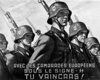 Affiche pour la Légion des Volontaires Français