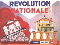 Affiche de propagande pour la Révolution nationale